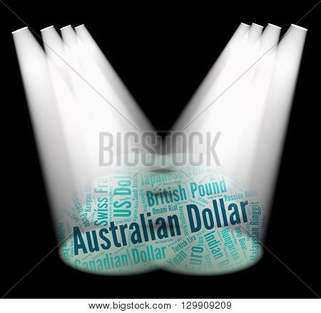 Australian Dollar Means Worldwide Trading And Currencies