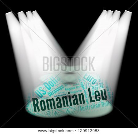 Romanian Leu Means Exchange Rate And Banknotes