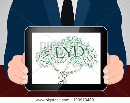Lyd Currency Represents Worldwide Trading And Coin