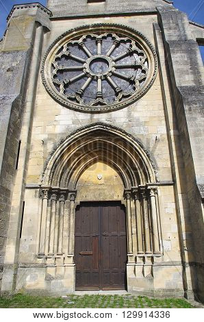 Catholic Church in Auvers Sur Oise in France, Europe