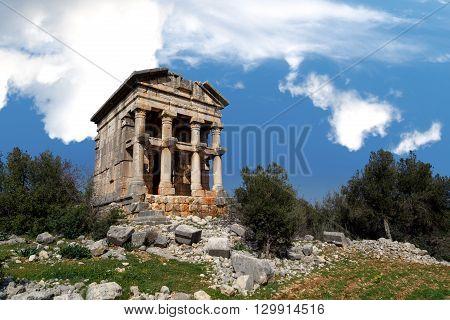 Mezgit Castle View