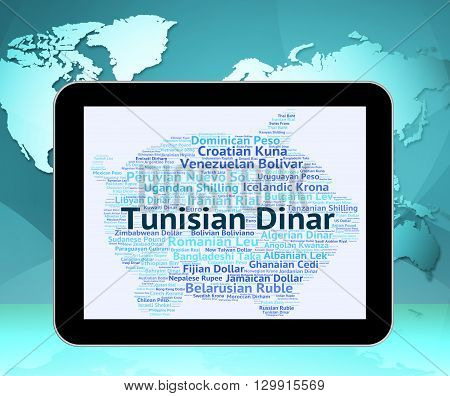 Tunisian Dinar Means Currency Exchange And Broker