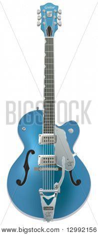 Electro guitar - vector