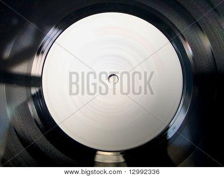 Vinyl record macro