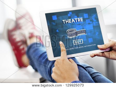 Theatre Theater Cinema Film Hall Audience Concept