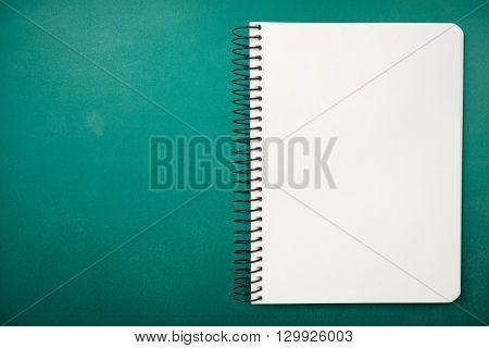 Spiral Notebook.