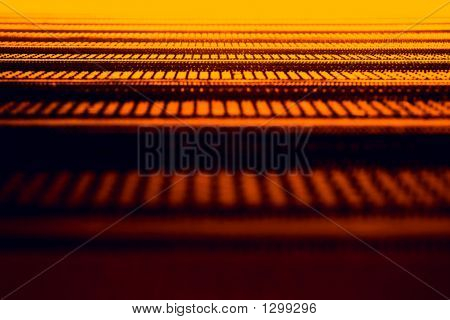 Abstract Orange Texture