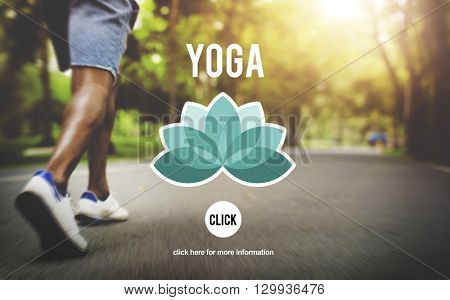 Yoga Contemplation Exercise Fitness Healthy Concept