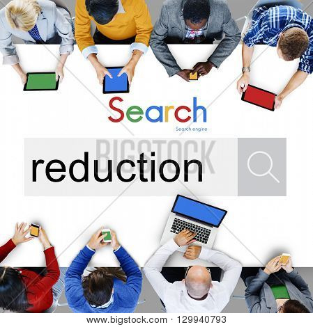 Reduction Discount Business Budget Promotion Concept