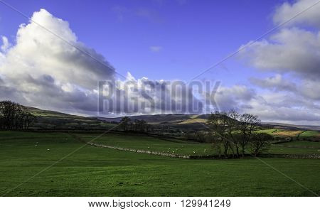 Yorkshire Dales National Park in England UK