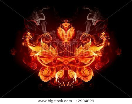Fiery emblem
