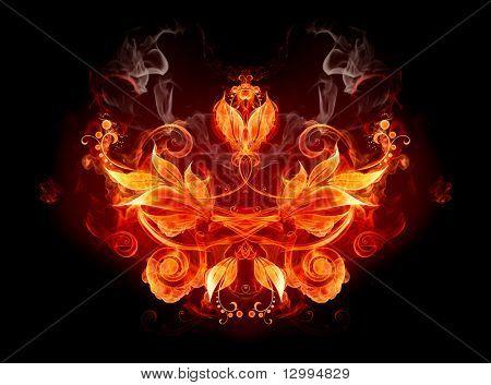 Emblema de fuego