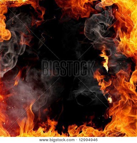 Marco de fuego