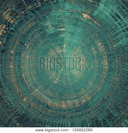 Spherical retro colorful background or creative old style texture with different color patterns: yellow (beige); brown; gray; blue; cyan