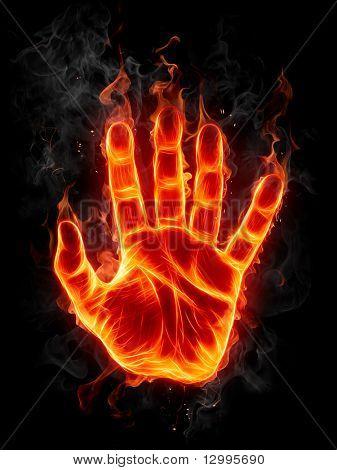 Feuer-hand