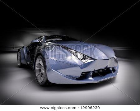 Concept car.  Mi propio diseño del coche. No asociado a ninguna marca.
