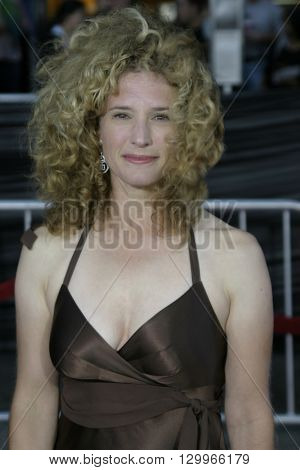 Nancy Travis at the Los Angeles premiere of 'Collateral' held at the Orpheum Theatre in Los Angeles, USA on August 2, 2004.