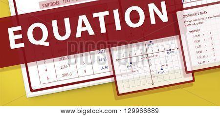Equation Mathematics Calculation Chart Concept