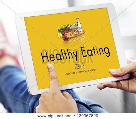 Healthy Eating Food Fresh Natural Organic Concept