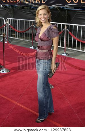 KaDee Strickland at the Los Angeles premiere of 'Collateral' held at the Orpheum Theatre in Los Angeles, USA on August 2, 2004.