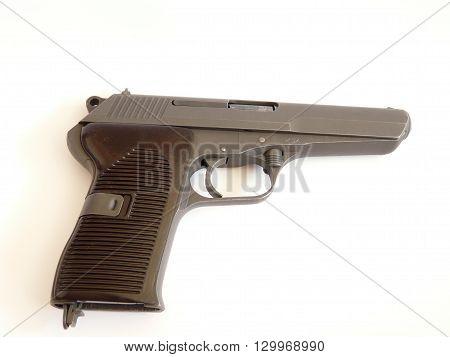 pistol cz vz.52  handgun calibre 7.62X25 tokarev