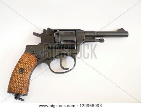 Revolver 1895 - Russian / Soviet  revolver cal 7,62 nagant