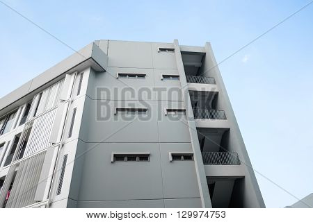 Condo the balcony window in day light