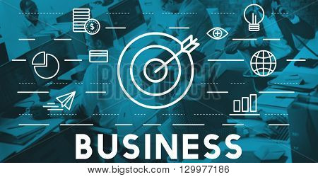 Business Commercial Corporate Enterprise Growth Concept