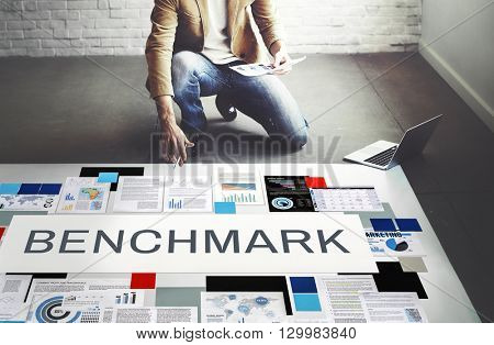 Benchmark Development Improvement Efficiency Concept