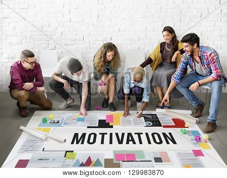Motivation Encourage Goal Hopeful Inspiration Concept