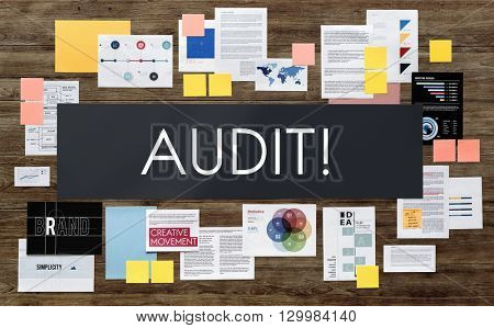 Audit Evaluation Examine Assessment Accounting Concept