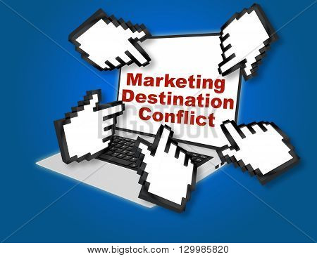 Marketing Destination Conflict Concept