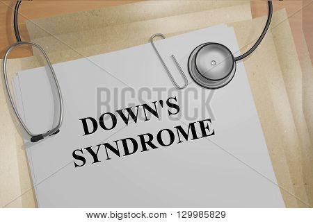 Down's Syndrome Medicial Concept
