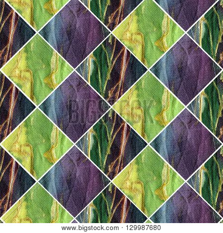 texture of batik fabric. colorful watercolor background