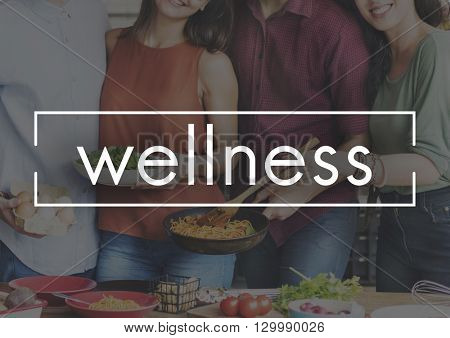 Wellness Healthy Lifestyle Relaxation Fit Concept