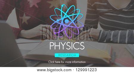 Physics Study Science Atom Energy Concept
