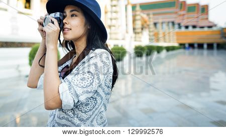 Photographer Travel Sightseeing Wander Hobby Recreation Concept
