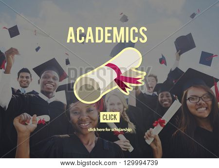 Academics School Education Collage Concept