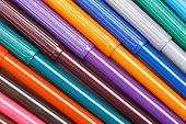 pic of non-permanent  - Multicolored Felt - JPG