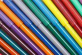 foto of non-permanent  - Multicolored Felt - JPG