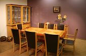stock photo of speculum  - dinning room - JPG
