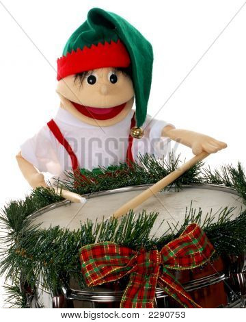 Christmas Elf Drumming