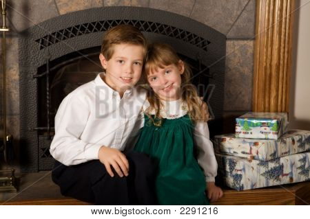 Brother And Sister Christmas