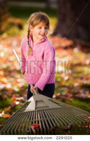 Big Rake, Little Girl