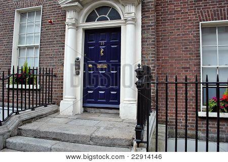 edwardian doorway