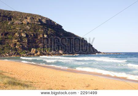 Beach Headland Ocean