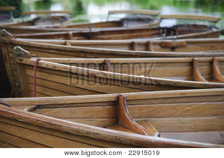 Boats On The River Stour Uk