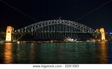 Sydney Harbor Bridge Night