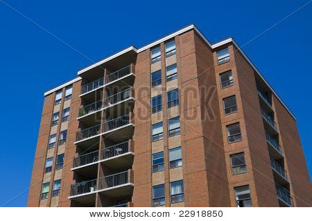 Tall Apartment Building Residential Architecture