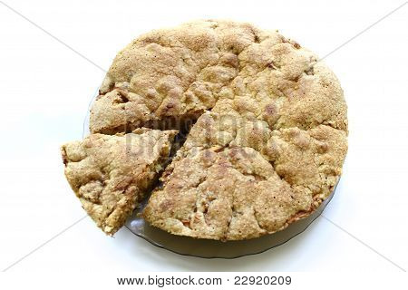 apple pie, isolated
